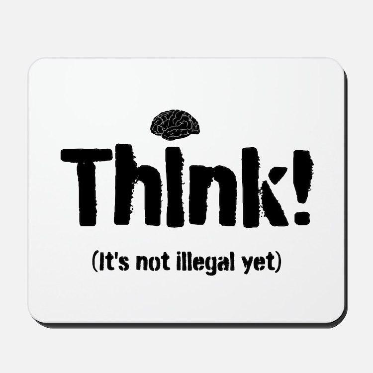 Think! Mousepad