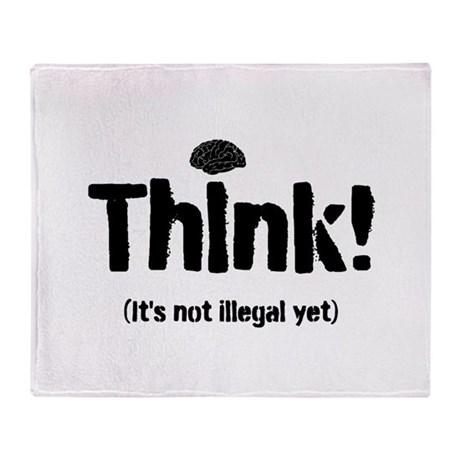 Think! Throw Blanket