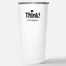 Think! Stainless Steel Travel Mug