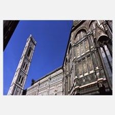 Low angle view of a cathedral, Duomo Santa Maria D