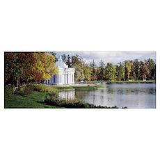 Grotto, Catherine Park, Catherine Palace, Pushkin, Poster