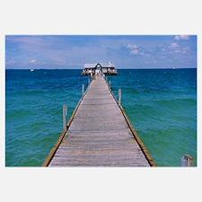 Pier in the sea, Anna Maria City Pier, Anna Maria,