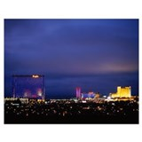 Atlantic city Wrapped Canvas Art
