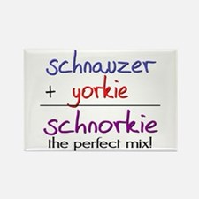 Schnorkie PERFECT MIX Rectangle Magnet