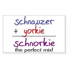 Schnorkie PERFECT MIX Decal