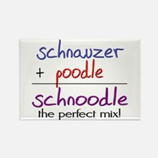 Schnoodle PERFECT MIX Rectangle Magnet