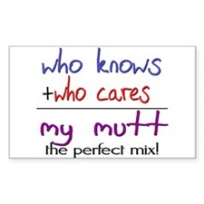 Mutt PERFECT MIX Decal