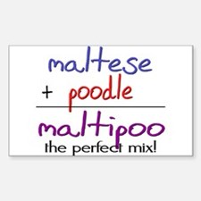 Maltipoo PERFECT MIX Decal