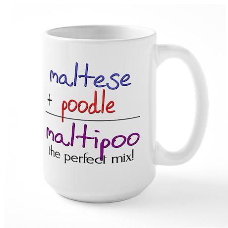 Maltipoo PERFECT MIX Large Mug