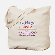 Maltipoo PERFECT MIX Tote Bag