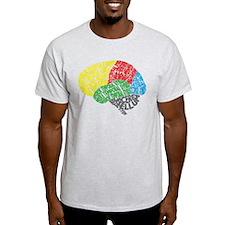 Your Brain (Anatomy) on Words T-Shirt