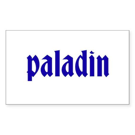 Paladin Sticker (Rectangle)
