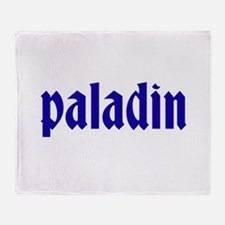 Paladin Throw Blanket