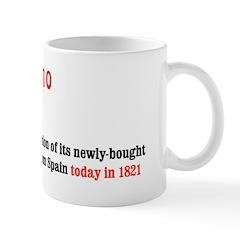 Mug: U.S. takes possession of its newly-bought ter