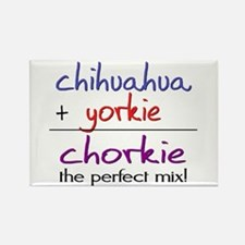 Chorkie PERFECT MIX Rectangle Magnet