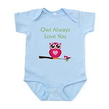 Owl Always Love You Infant Bodysuit