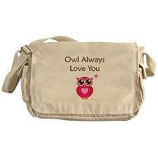 Owl Always Love You Messenger Bag