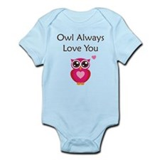 Owl Always Love You Infant Bodysuit