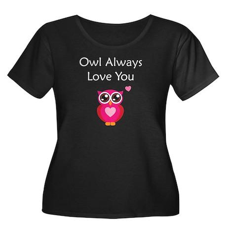 Owl Always Love You Women's Plus Size Scoop Neck D