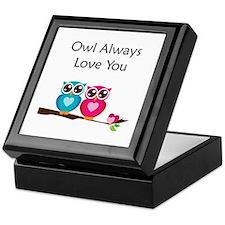 Owl Always Love You Keepsake Box