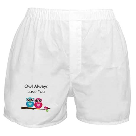 Owl Always Love You Boxer Shorts