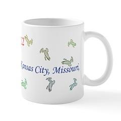 Mug: It rained frogs in Kansas City, Missouri, tod