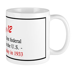 Mug: Congress passed the first federal minimum wag