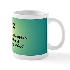 Mug: Henry David Thoreau, philosopher, pacifist, t