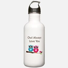 Owl Always Love You Water Bottle