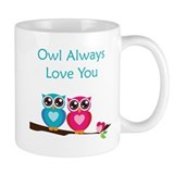 Owl Small Mugs (11 oz)