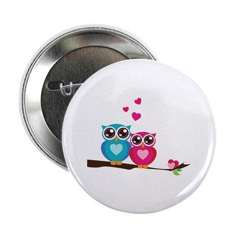 """Owl Always Love You 2.25"""" Button (100 pack)"""