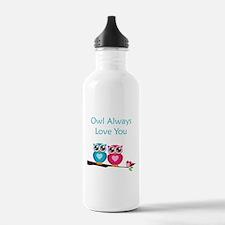 Owl Always Love You Water Bottle