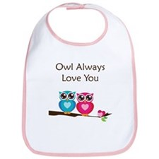 Owl Always Love You Bib