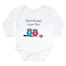 Owl Always Love You Long Sleeve Infant Bodysuit