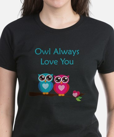 Owl Always Love You Women's Dark T-Shirt