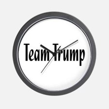 Team Trump Wall Clock