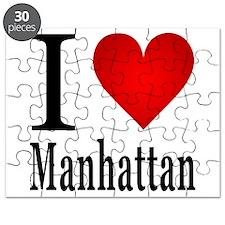 I Love Manhattan Puzzle
