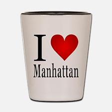 I Love Manhattan Shot Glass