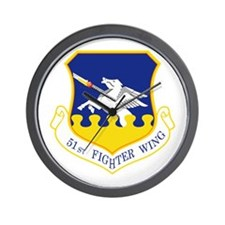51st Fighter Wing Wall Clock