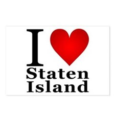 I Love Staten Island Postcards (Package of 8)