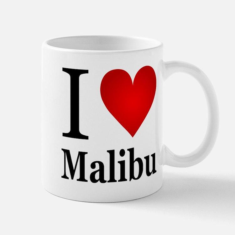 I Love Malibu Mug
