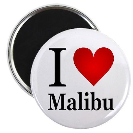 "I Love Malibu 2.25"" Magnet (10 pack)"