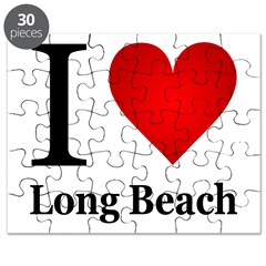 I Love Long Beach Puzzle