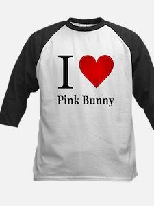 I Love Pink Bunny Tee