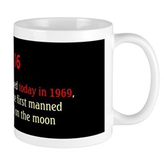 Mug: Apollo 11 was launched today in 1969, and wou