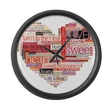 Romance Large Wall Clock
