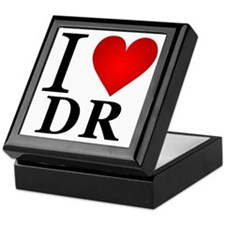 I Love Dominican Republic Keepsake Box