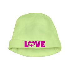 LOVE PIGS baby hat