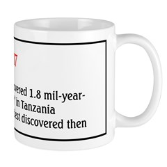 Mug: Dr. Mary Leakey discovered 1.8 mil-year-old h