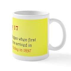 Mug: Klondike gold rush began when first successfu
